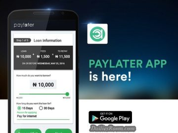 www.paylater.ng - Download Paylater App | Paylater Short-term Loan