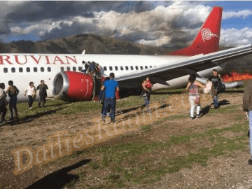 Plane Crashes in Peru; 141 Passengers Escaped without Injuries