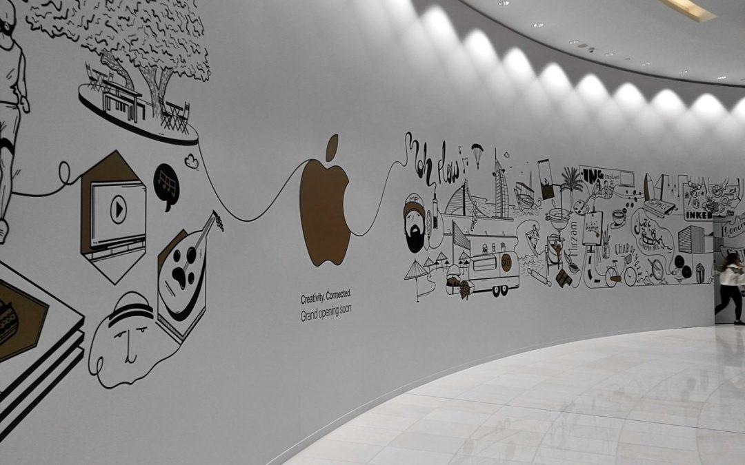 Apple Inc – Apple Store Dubai Mall to Open 27th April 2017
