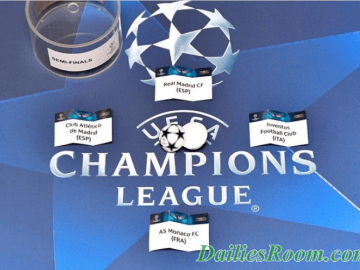 UEFA Champions League Semi-final Draws | Europa League Semi-final Draws