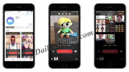 "Now On App Store - Free Download Apple Video App ""Clips"" for iPhone and iPad"