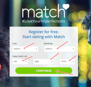Match Online Dating Site