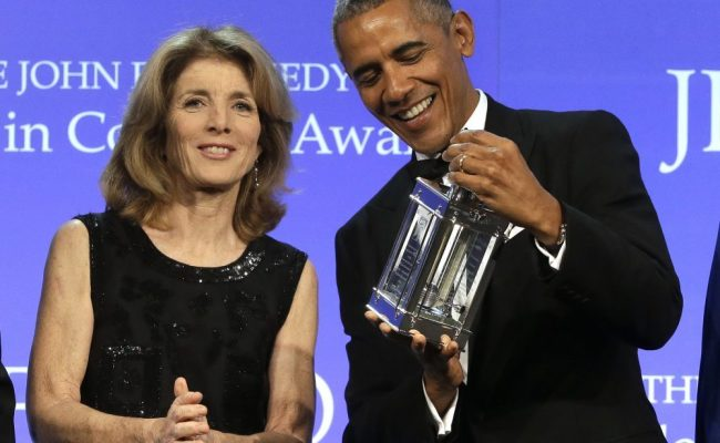 2017 'Profile in Courage Award': Obama Earns JFK Courage Award