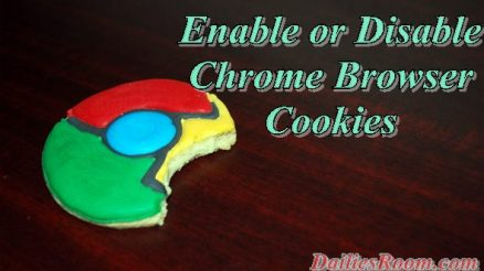 How to Enable or Disable Chrome browser Cookies on Android device