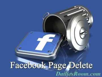 How to Delete Facebook Business Page Permanently | Business Account