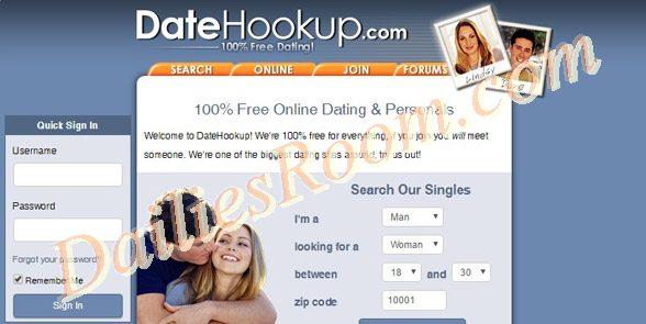 Join www.datehookup.com   Datehookup Account free Registration/Login