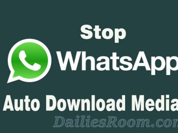 Step-by-Step Guide to Stop Whatsapp Media Auto-Download