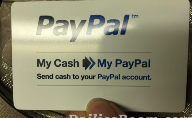 How to Add Money to your PayPal Account Balance   PayPal Cash Card