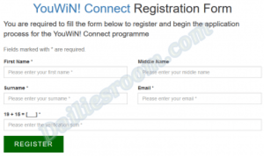 Apply for YouWin Programme Online | YouWin Online Registration process