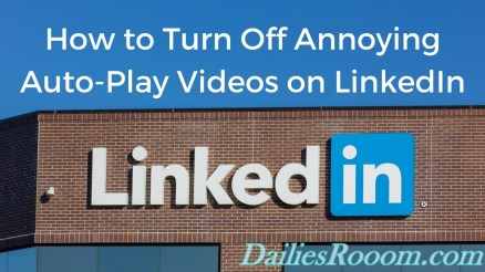 How To Turn Off LinkedIn Autoplay Video on Android, iOS and Desktop