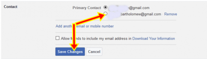 How To Change Email Address on Facebook.com Account