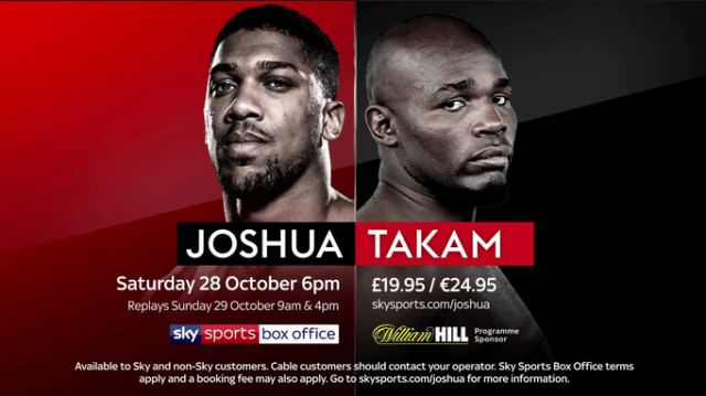 #whowillwin Heavyweight Boxing Between Anthony Joshua v Carlos Takam