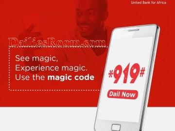 How to Check UBA Account Balance, Buy Airtime, Transfer Money - *919#