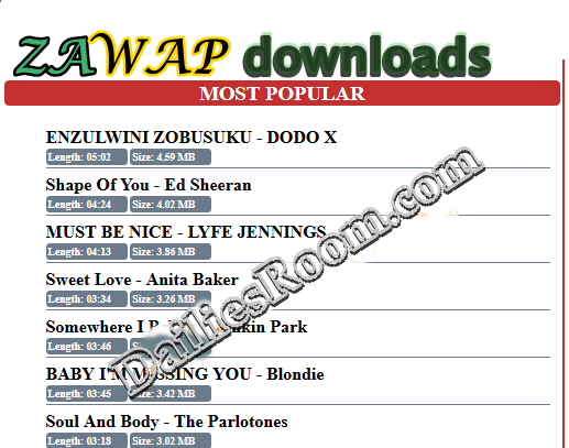 Zawap.net Latest Music Downloads | Zawap Free Mp3 Music Downloads