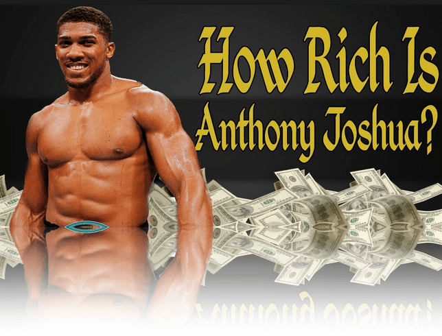 Anthony Joshua Net Worth 2017 From Forbes - Joshua Net-Worth