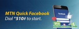 *510# Sign in MTN Quick Facebook | Access Facebook Via USSD Code