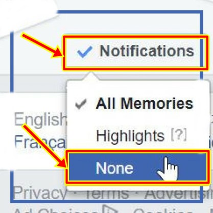 "How to Turn-off Facebook Memories - Turn Off ""On This Day"" Feature"