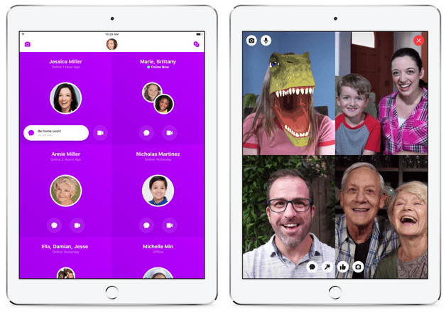 Facebook Messenger Kids App Download For Families Group Video Chat