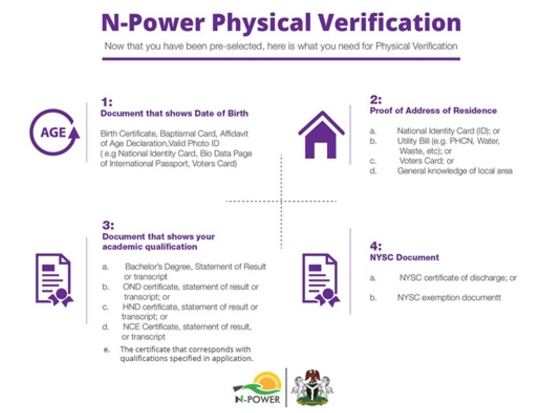 N-Power Physical Verification Exercise for 2017/2018 Now commences