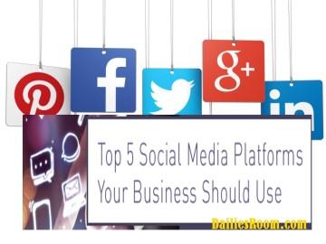 Best Social Media Platforms for Marketing   7 Business Social Media Sites