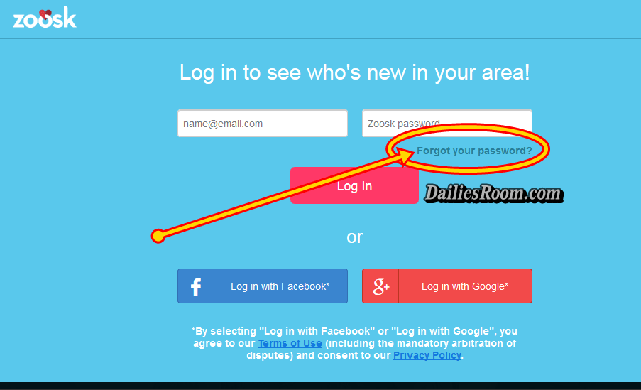 Password and zoosk login Zoosk