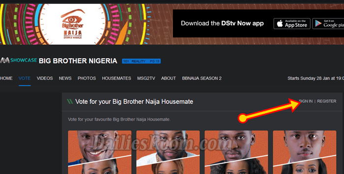 How to Vote for your Big Brother Naija Housemate