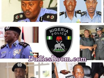 List Of Past IGPs In Nigeria | Inspector General Of Police (1964 Till Date)
