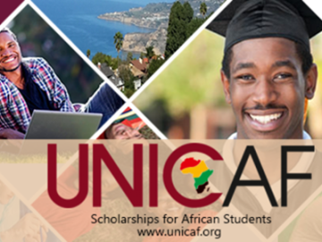 Apply UNICAF Undergraduate Scholarship & Study for UK Master's Degree