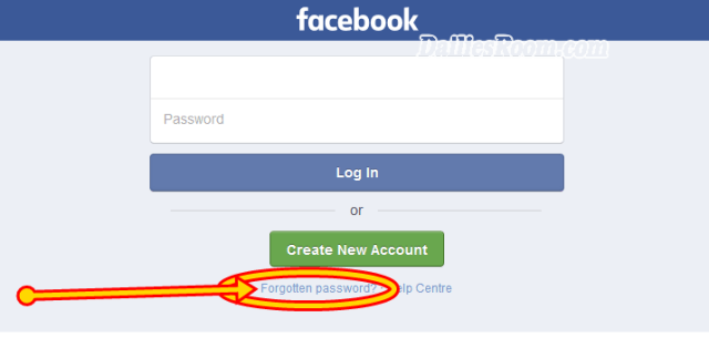 How To Recover Facebook Password Without Email or Phone Number
