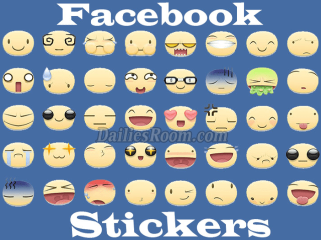 How To Send Free Sticker In A Facebook Message Store - FB Stickers