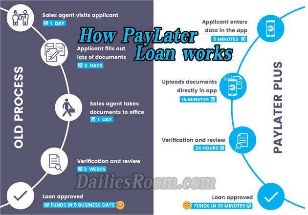 How PayLater Loan Works