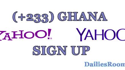 How To Create Yahoo Mail Ghana Account   +233 Yahoo Mail Signup Portal