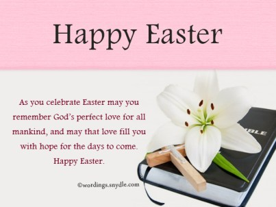 Easter Wishes, Quotes For Families, Friends | Happy Easter Messages