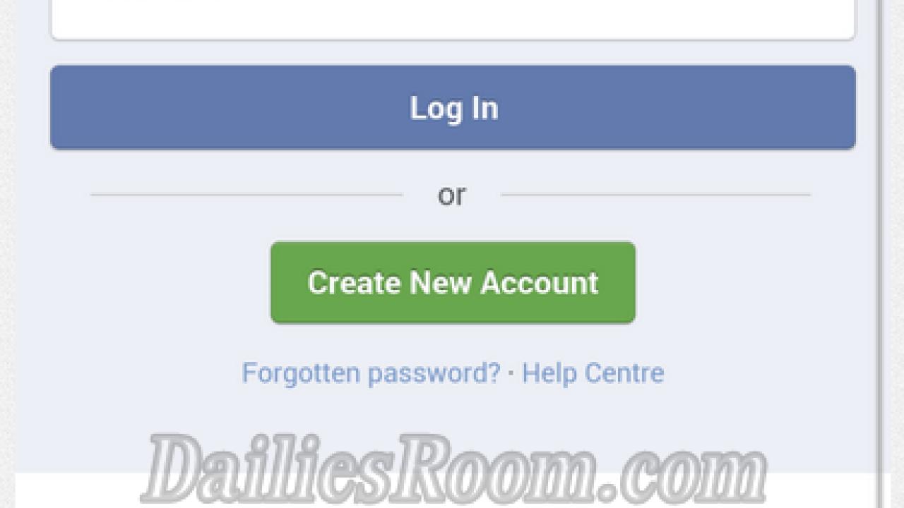 Wwwfacebook com sign up login