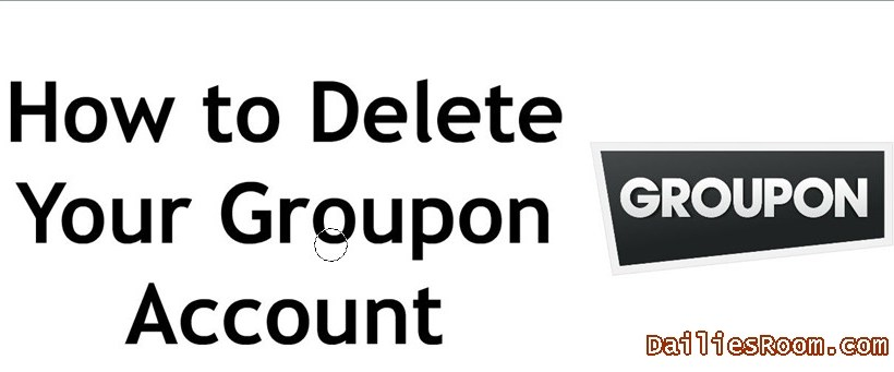 How to Delete Groupon Account - Close www.groupon.com Account