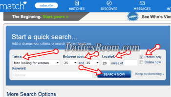 browse dating sites without registering
