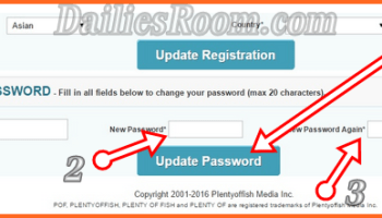 Change POF com Username and Password - PlentyOfFish Account Reset