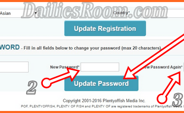 Change POF Password: How To Change Plenty Of Fish Password