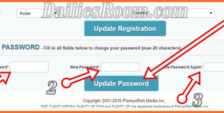 Change POF.com Username and Password - PlentyOfFish Account Reset