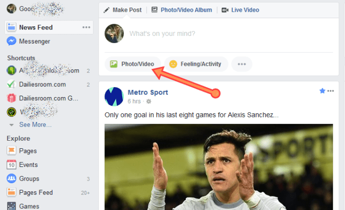 HOW TO ADD VIDEO TO FACEBOOK And Publish For Friends To See