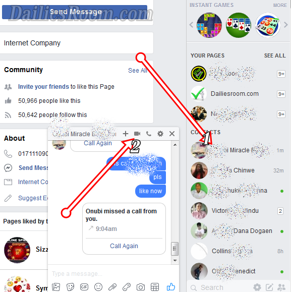 HOW TO ACTIVATE VIDEO CALL SERVICE IN FACEBOOK - FB Calling
