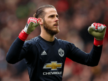 David De Gea Set To Sign New £350,000-A-Week contract at Old Trafford