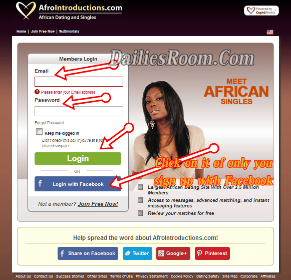 Afrointroductions.com login - African Dating Sign In