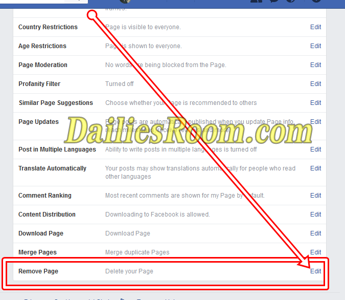 How do I Delete a Business Page on Facebook Free - Delete FB Page