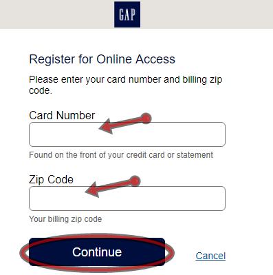 GAP Credit Card Online Application | GAP Credit Card Login