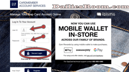 GAP Credit Card Online Application | GAP Credit Card Login