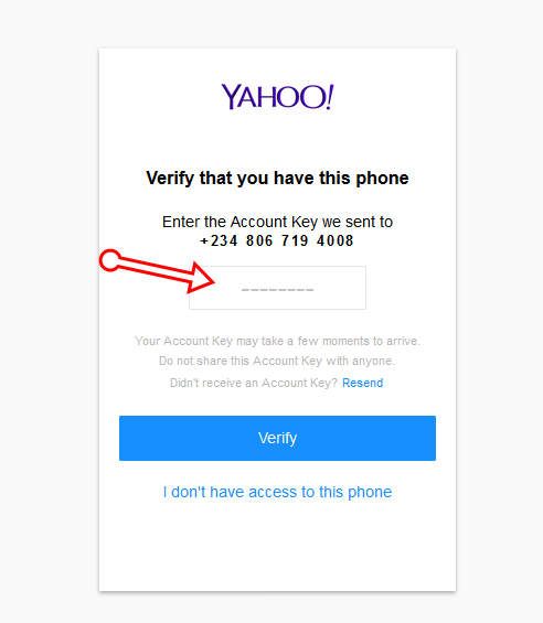 How to Recover Lost Yahoo Email Address and Password with Phone Number