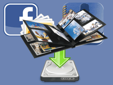 How To Download Friends Facebook Phone Album Online
