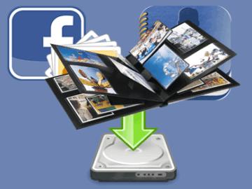 How To Download Friends Facebook Phone Album Online