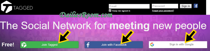 How to Create New Tagged.Com Account free